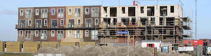 Diverse complexen in Almere - Poort. Ontwikkelaar De Realisatie