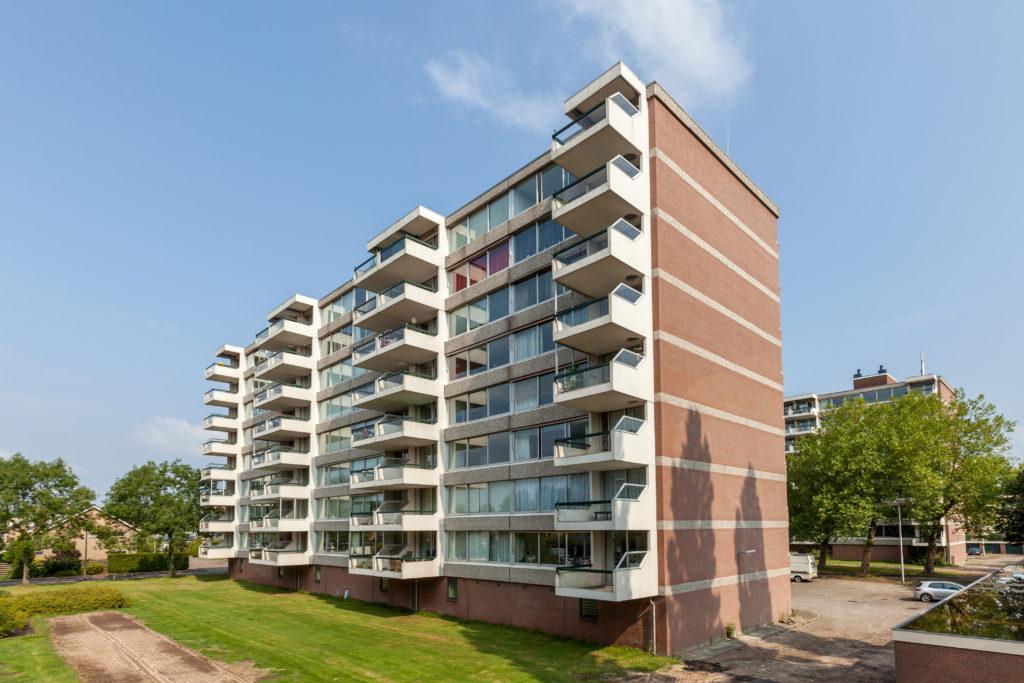 Portiekflat aan de Verdiweg in Amersfoort - 48 appartementen