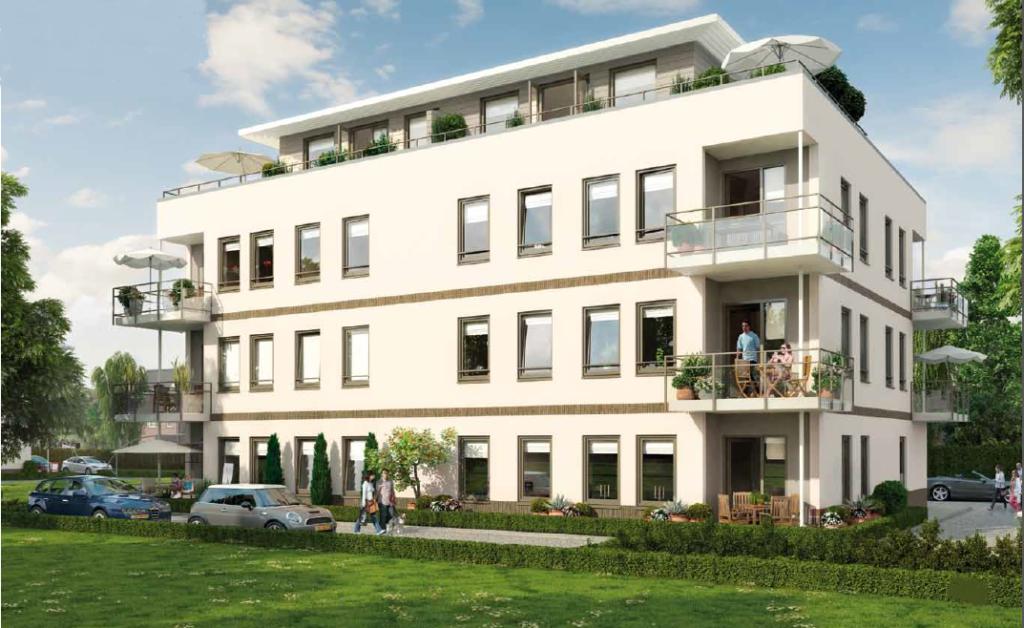 Twee fases van het project Palazzo Rimini in Almere - Poort. Ontwikkelaar Beraka Real Estate