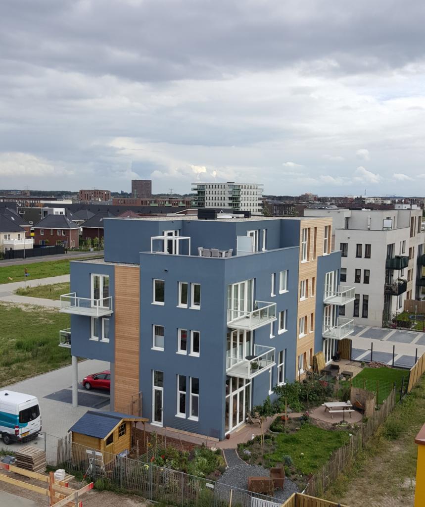 Project van Casa23. Diverse complexen in Almere Poort